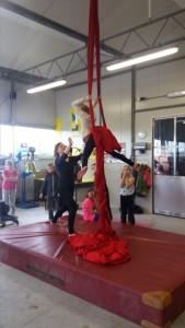 doek acrobatiek